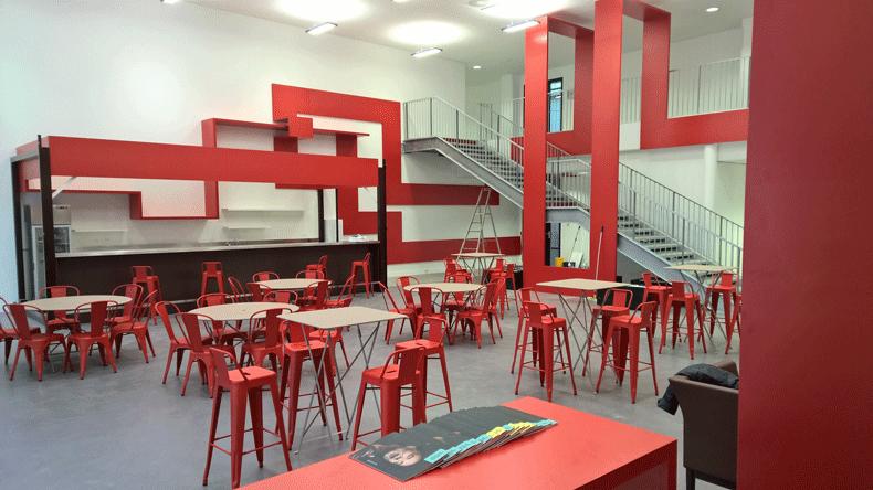 Layout for the Ecole Supérieure de Paris Sénart – ICAM