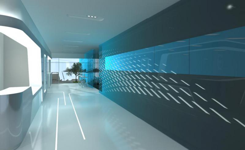 CFM chalet Salon du SIAE 3D