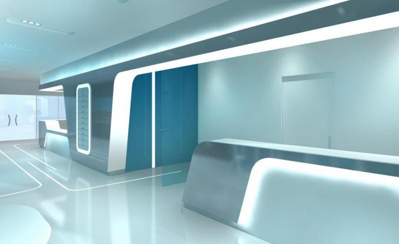 CFM chalet Salon du SIAE 3D entree