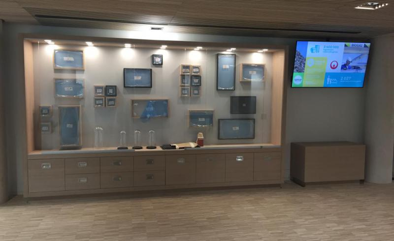 Showroom Technqiue VEOLIA cabinet de curiosité