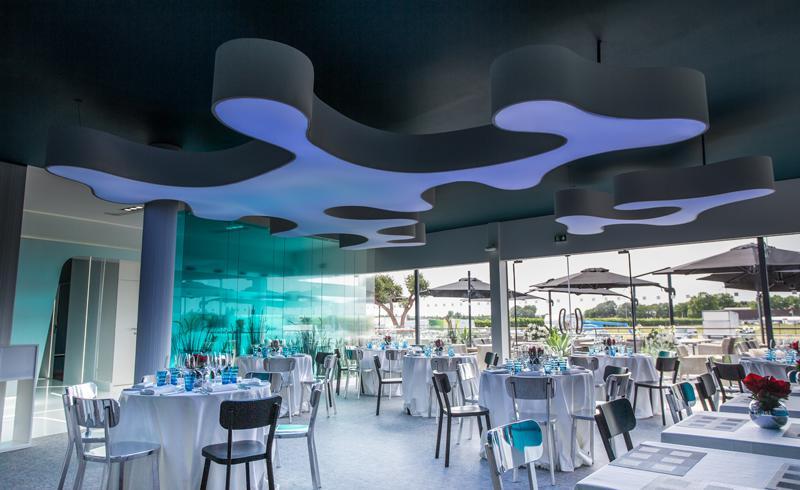 CFM chalet Salon du SIAE salle de restaurant