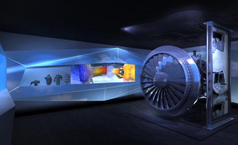 CFM chalet Salon du SIAE showroom 3D